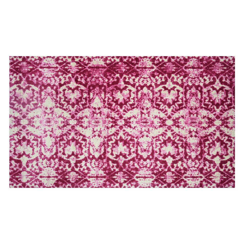 Studio 67 In-Home Washable/Non-Slip Muted Pink 2 Ft. 3 In