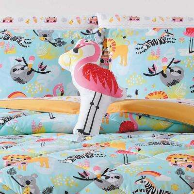 Kids Party Animals Shaped Pillow