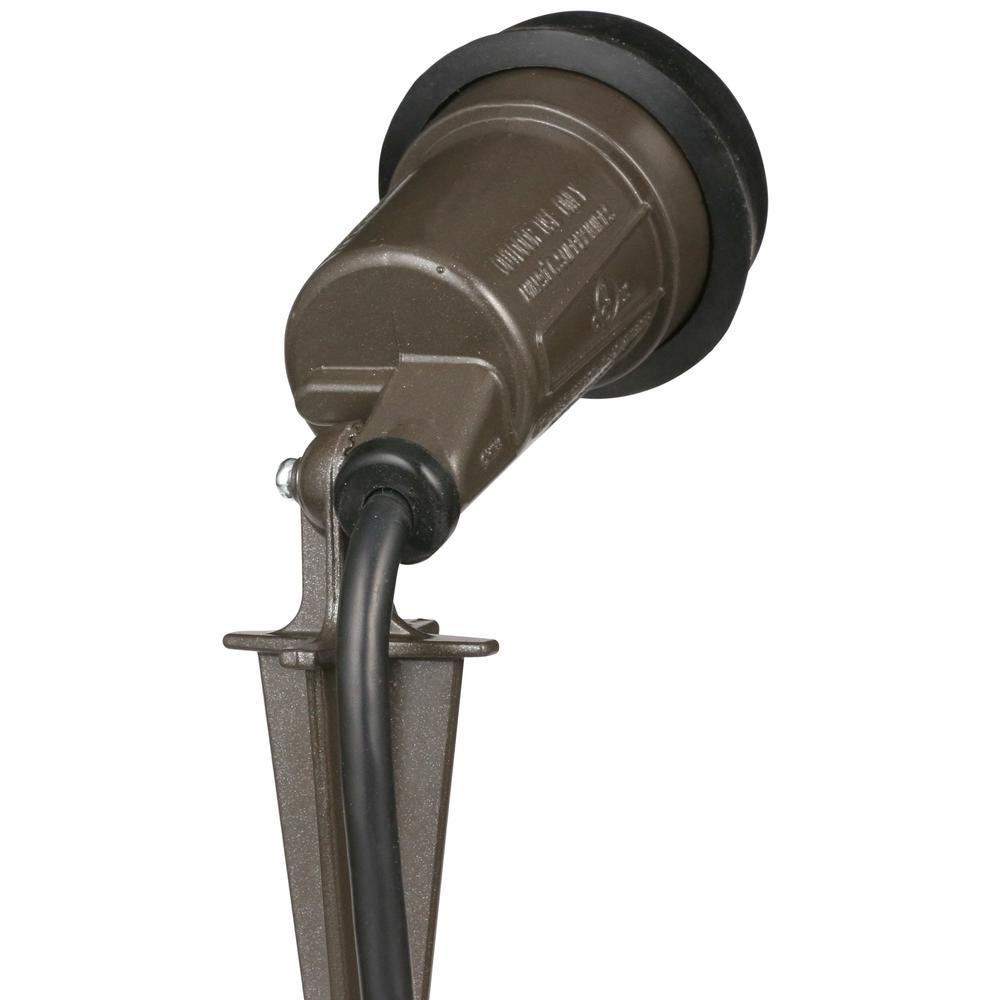 Flood Light Lamp Holder Portable Outdoor Landscape