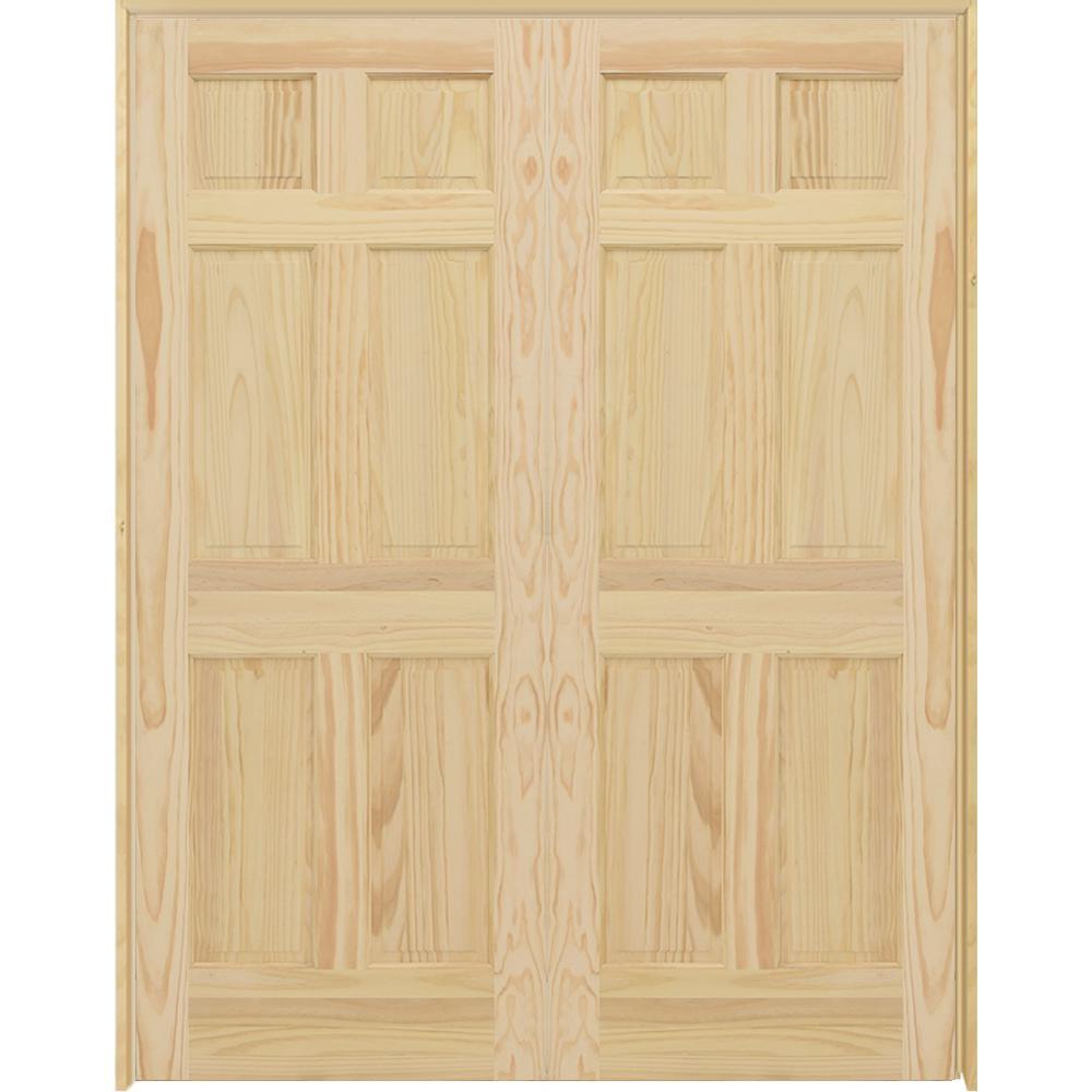 48 X 80 French Doors Interior Closet Doors The Home Depot