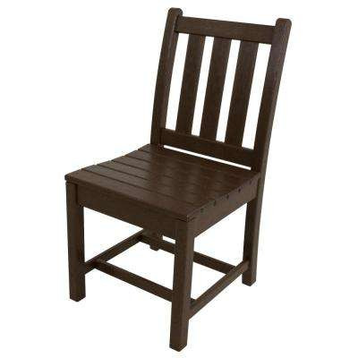 Traditional Garden Mahogany Patio Dining Side Chair