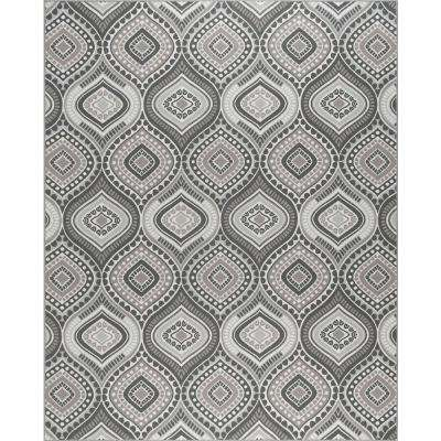 Majesty Charcoal 8 ft. 9 in. x 12 ft. 3 in. Area Rug