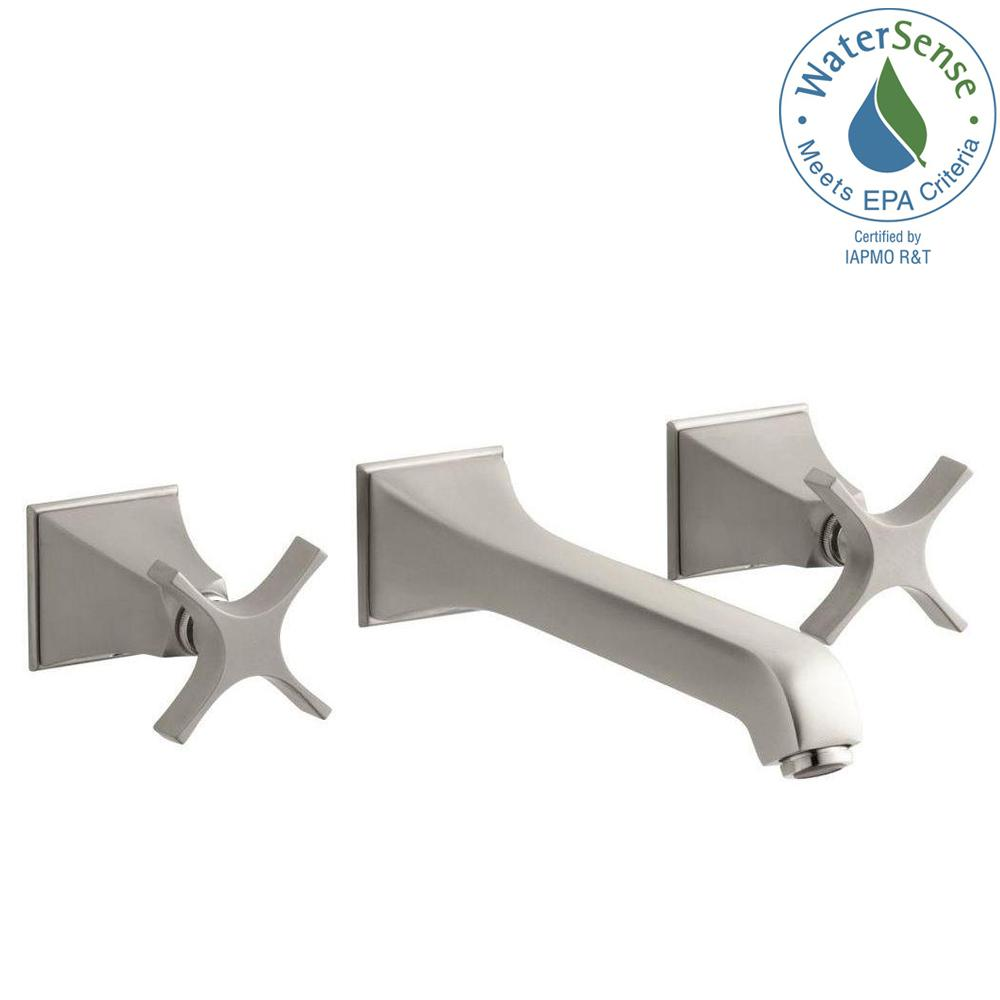 KOHLER Memoirs Wall-Mount Bathroom Faucet Trim Kit with Stately ...