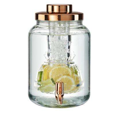 2 Gal. Coppertino Chill and Flavor Beverage Dispenser