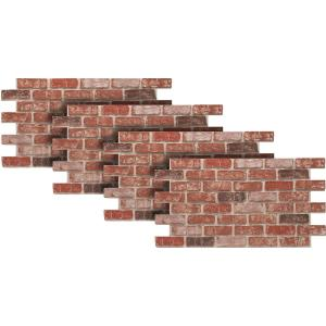 Urestone old town 24 in x 46 3 8 in faux used brick - Exterior stone veneer home depot ...