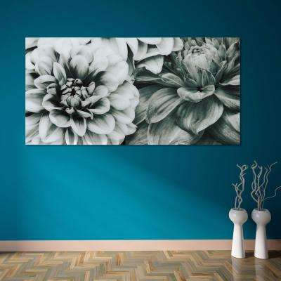 """""""Blossoms"""" Frameless Free Floating Tempered Art Glass by EAD Art Coop Wall Art"""