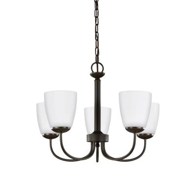 Bannock 5-Light Heirloom Bronze Chandelier