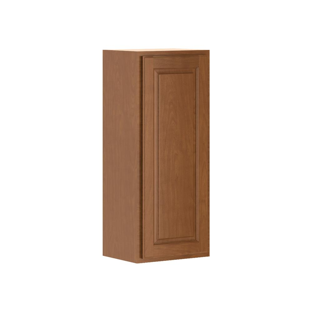 Madison Assembled 15x36x12 in. Wall Cabinet in Cognac