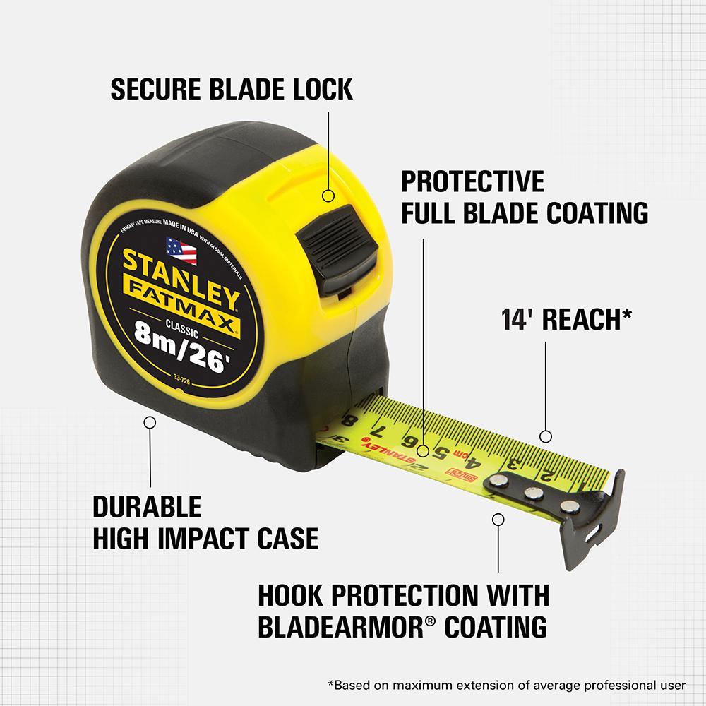 Stanley Fatmax Tape Measure Blade Armor