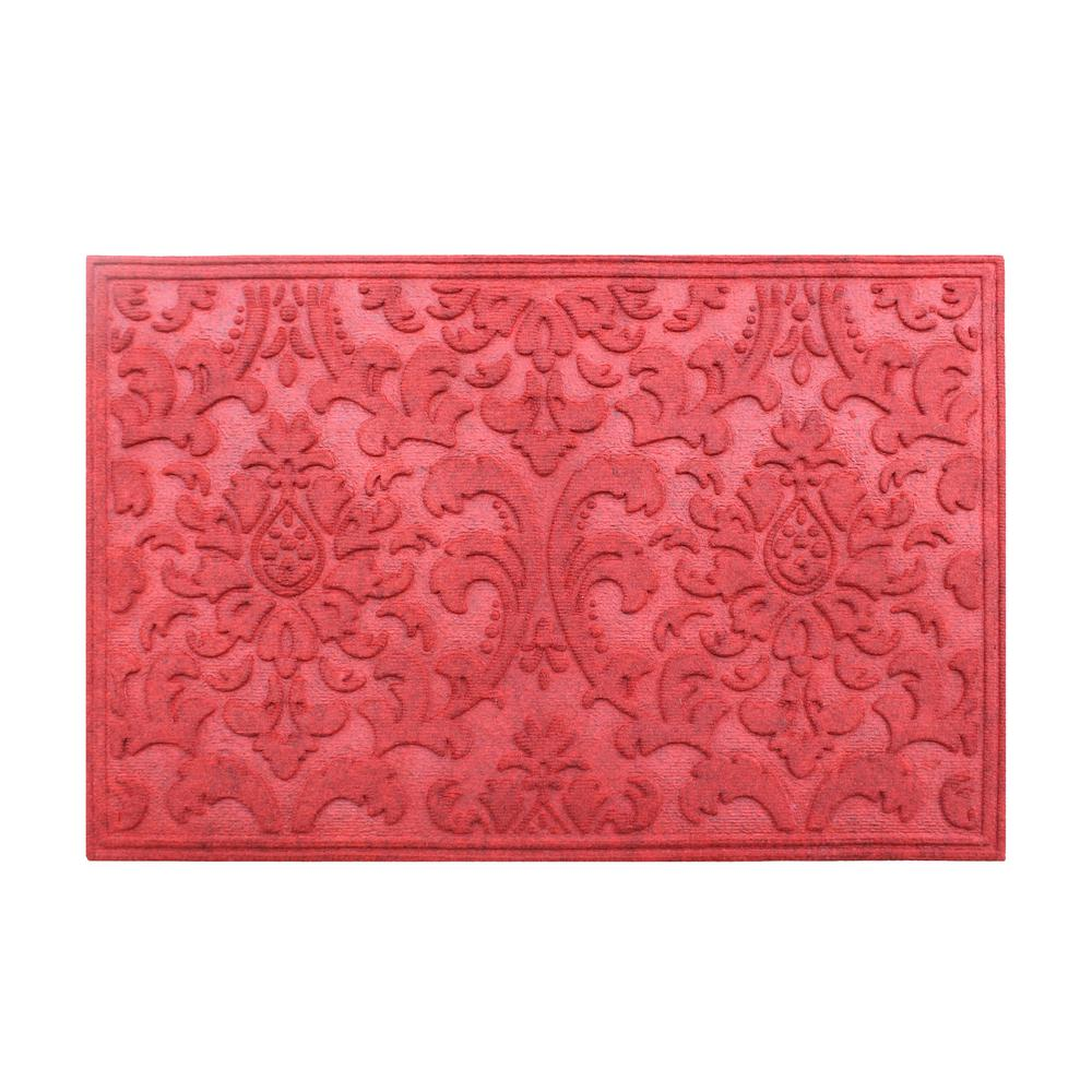 First Impression A1hc Brocade Red 24 In X 36 In Eco Poly
