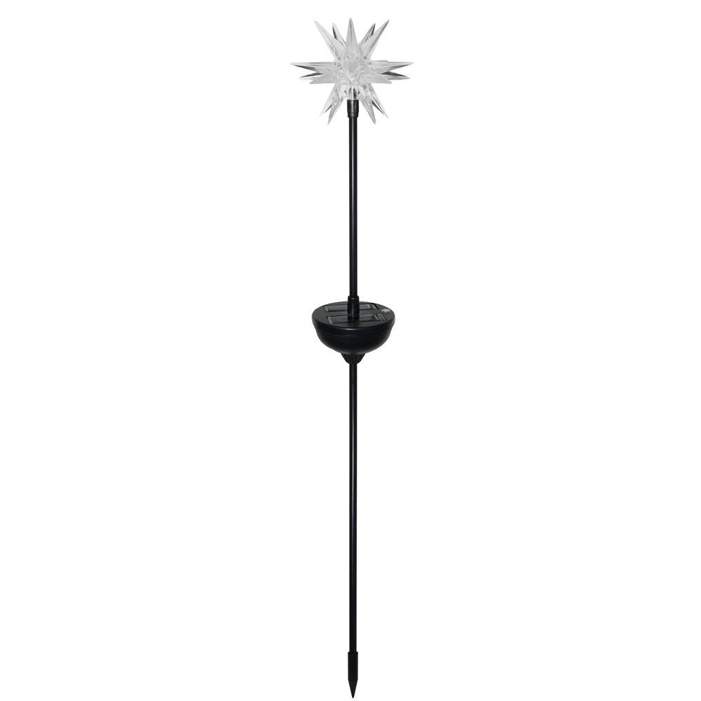 Moonrays Solar Powered Outdoor Color-Changing Starburst LED Stake Light (4-Pack)