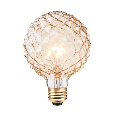 40W Clear Designer Vintage Edison Crystalina Incandescent Light Bulb