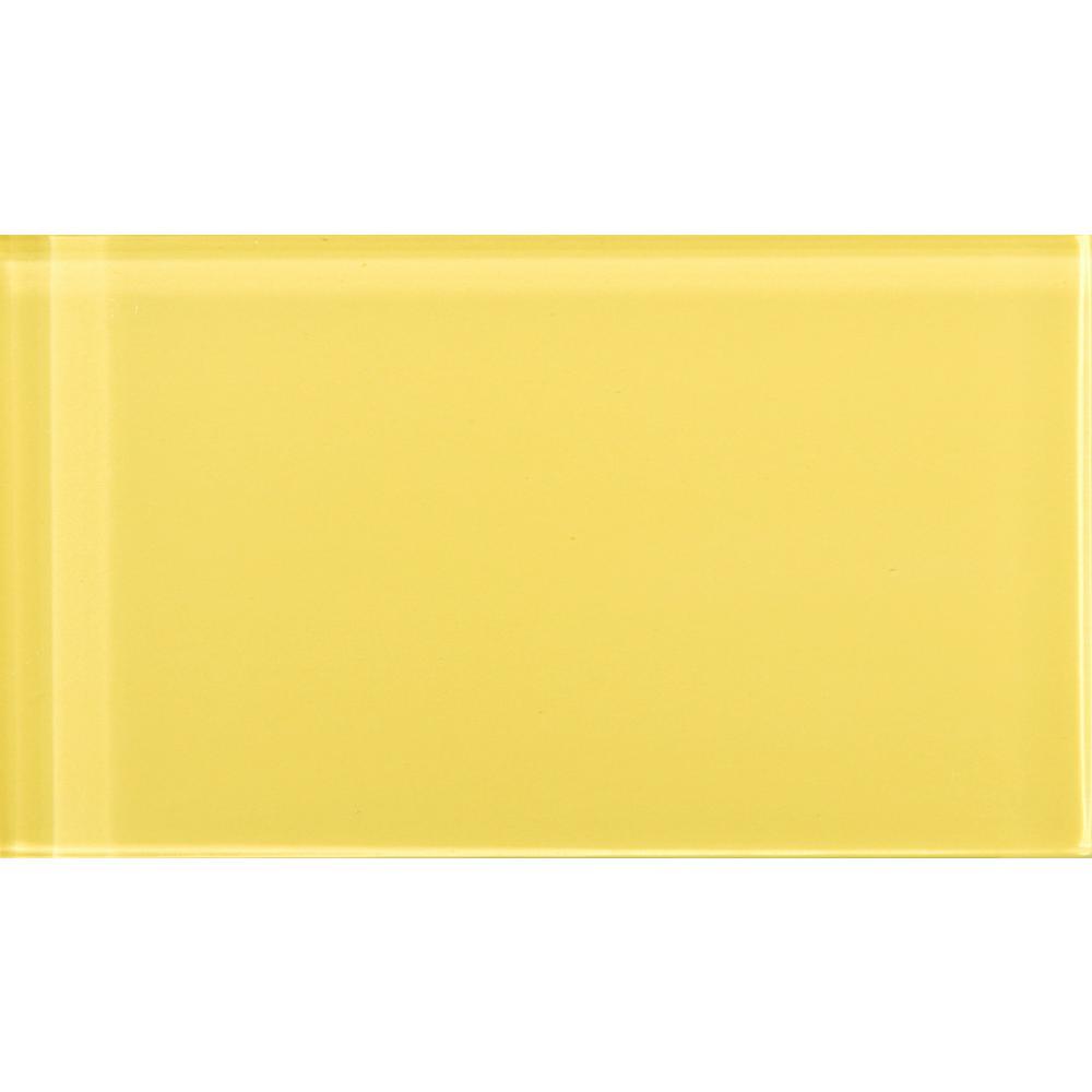 Emser Lucente Sunflower 3 15 In X 6 46 Gl Wall Tile