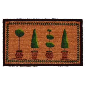 Home & More Topiary 24 inch x 36 inch Door Mat by Home & More