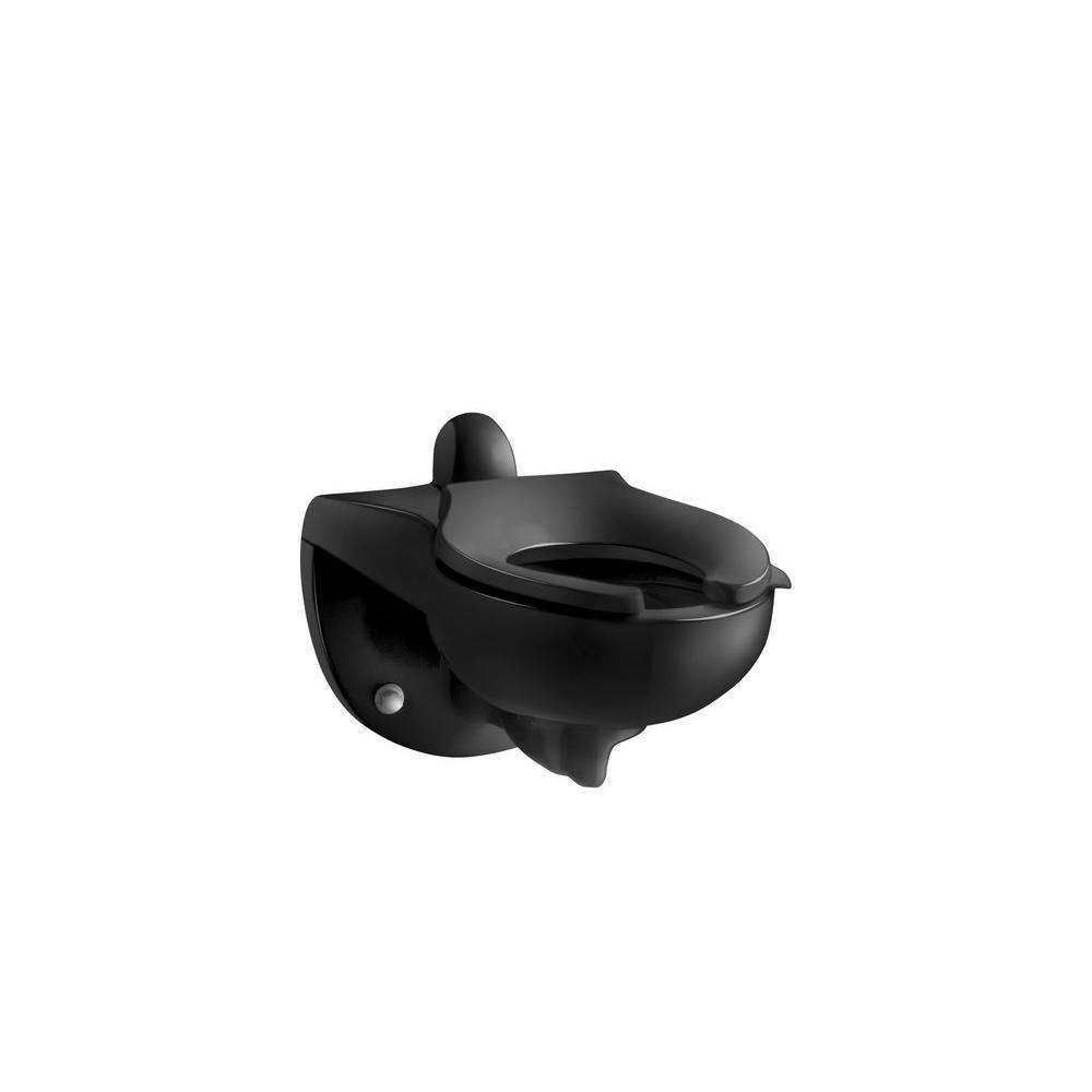 KOHLER Kingston Elongated Toilet Bowl Only in Black