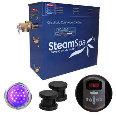 Indulgence 10.5kW Steam Bath Generator Package in Oil Rubbed Bronze