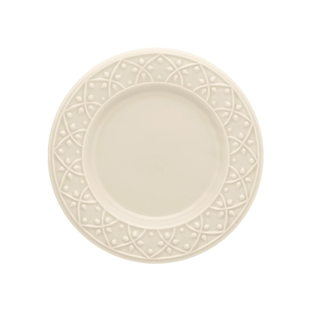 Manhattan Comfort 7.87 in. Mendi Ivory Salad Plates (Set of 12) was $139.99 now $72.69 (48.0% off)