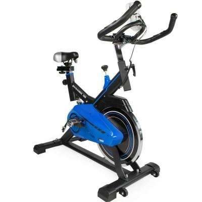 Pro Dynamic 30 Stationary Exercise Bike Fitness Bicycle Indoor in Blue