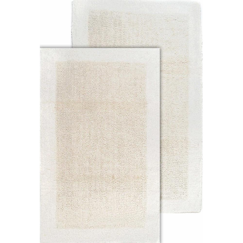 Bella Napoli Ivory 21 in. x 34 in. and 24 in.