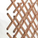 18-Bottle Trimmable Wine Rack Lattice Panel Inserts in Unfinished Solid North American Cherry