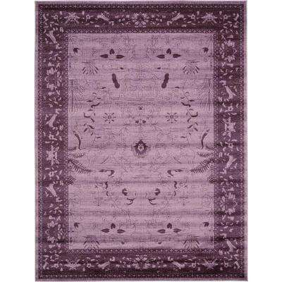 La Jolla Purple 9' x 12' Rug
