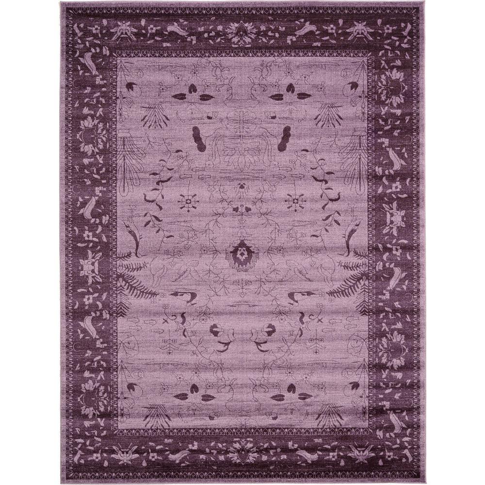 La Jolla Purple 9' x 12' Rug