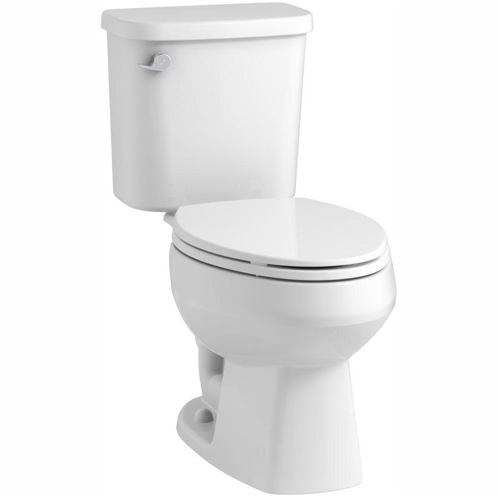 Sterling STERLING Windham 2-piece 1.28 GPF Single Flush Elongated Toilet in White