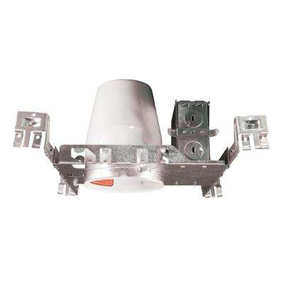 4 in. Non-IC New Construction Recessed Housing for GU10 MR-16