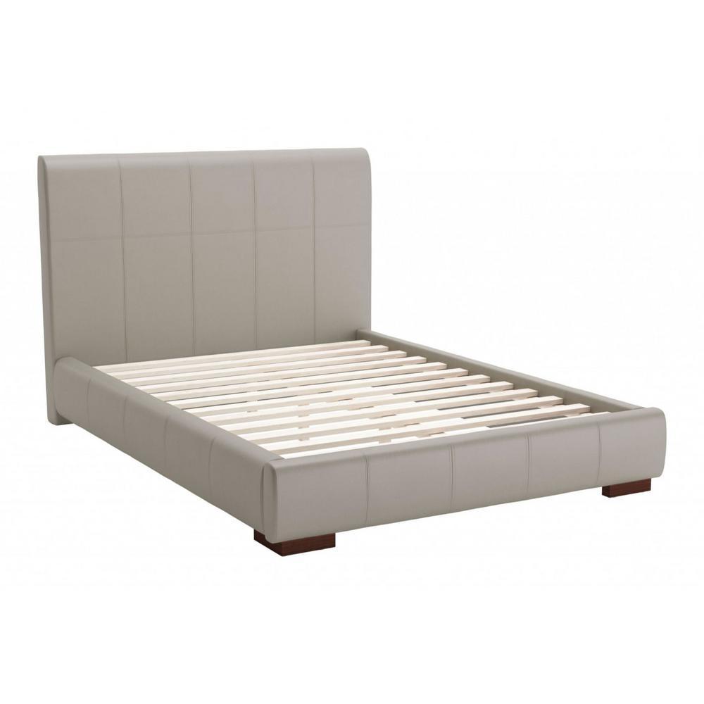 Julia Gray Full Platform Bed