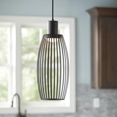 9.6-Watt Bronze Integrated LED Pendant