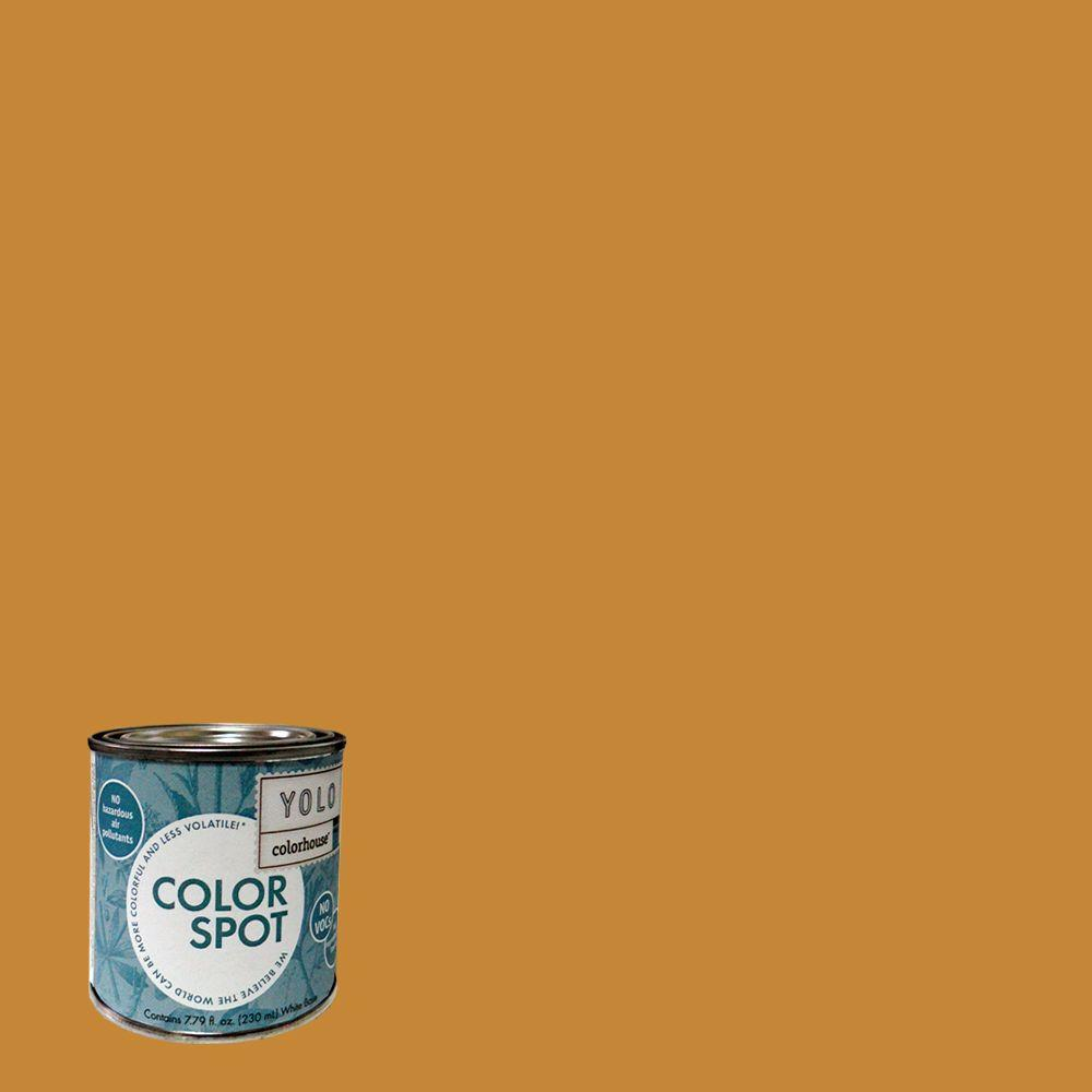 YOLO Colorhouse 8 oz. Wood .01 ColorSpot Eggshell Interior Paint Sample-DISCONTINUED