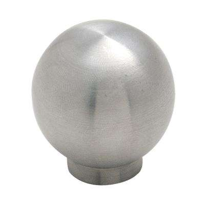 1-13/16 in. Stainless Steel Ball Cabinet Knob