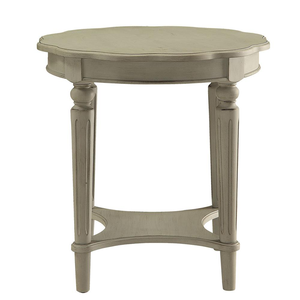Merveilleux ACME Furniture Fordon Antique Slate End Table