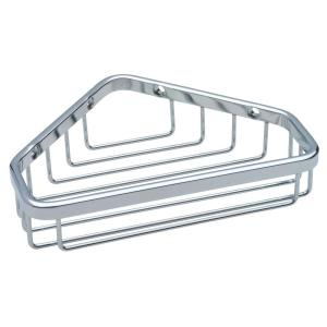 Franklin Brass Small Wire Corner Shower Caddy in Bright Stainless by Franklin Brass