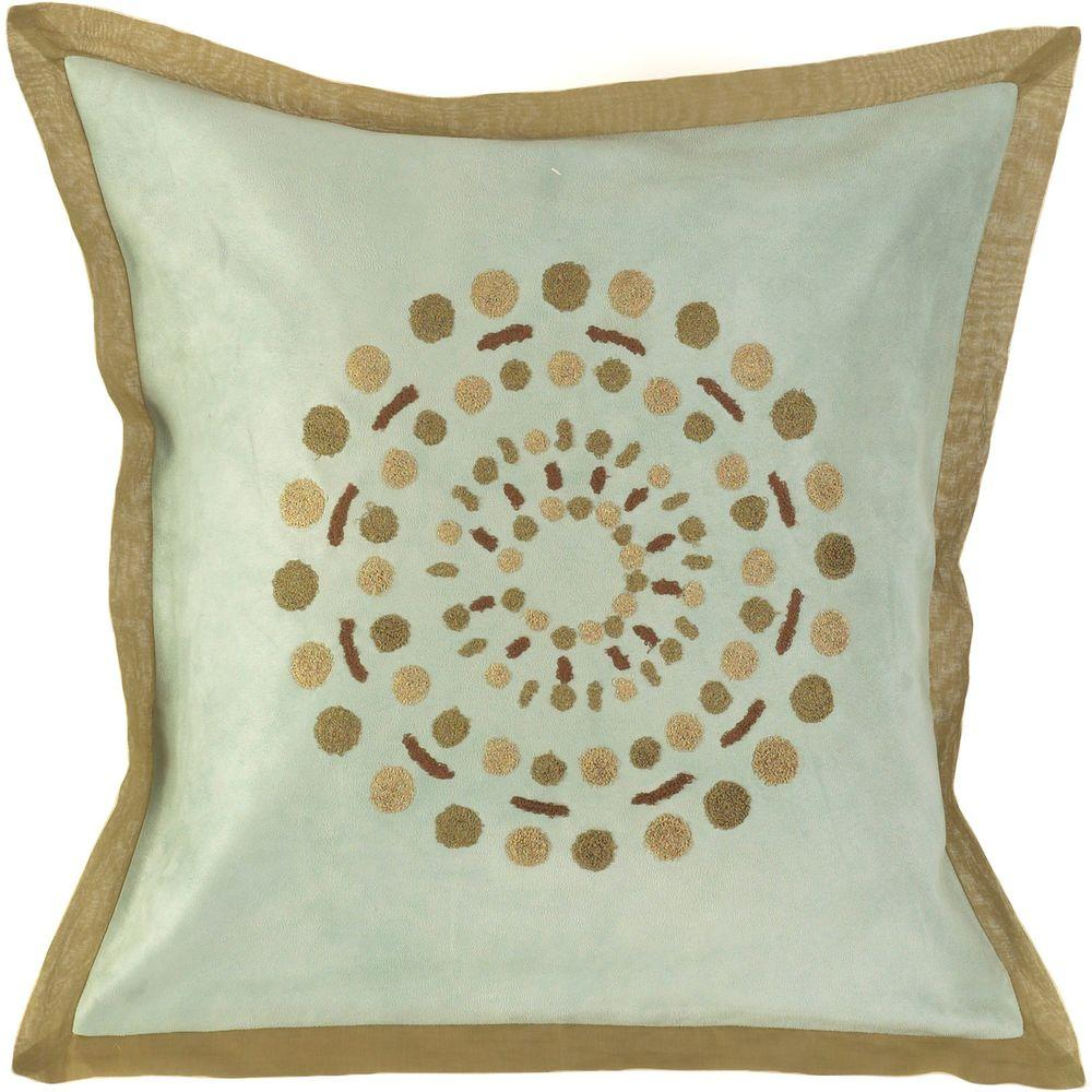 Decorative Down Pillows : Artistic Weavers DotsC 18 in. x 18 in. Decorative Down Pillow-DotsC-1818D - The Home Depot