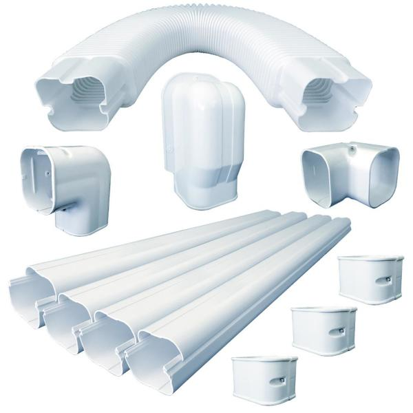 3 in. x 2.5 in. x 15 ft. Universal Line Set Cover Kit for Ductless Mini-Split