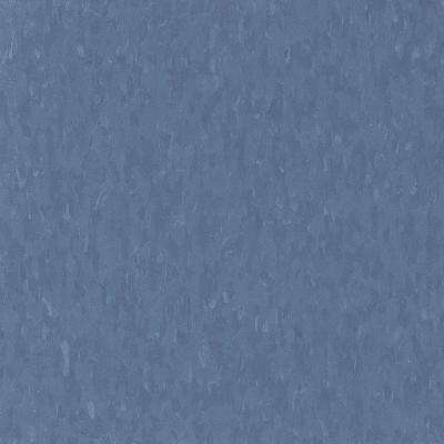 Take Home Sample - Imperial Texture VCT Serene Blue Standard Excelon Commercial Vinyl Tile - 6 in. x 6 in.