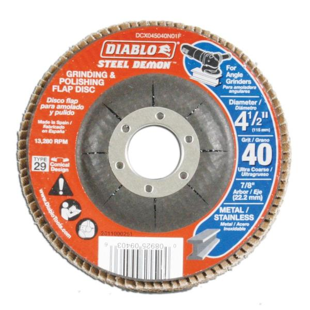 320-Grit Polishing Wheel Buffing Disc Abrasive Round Flap Angle Grinder Supplies