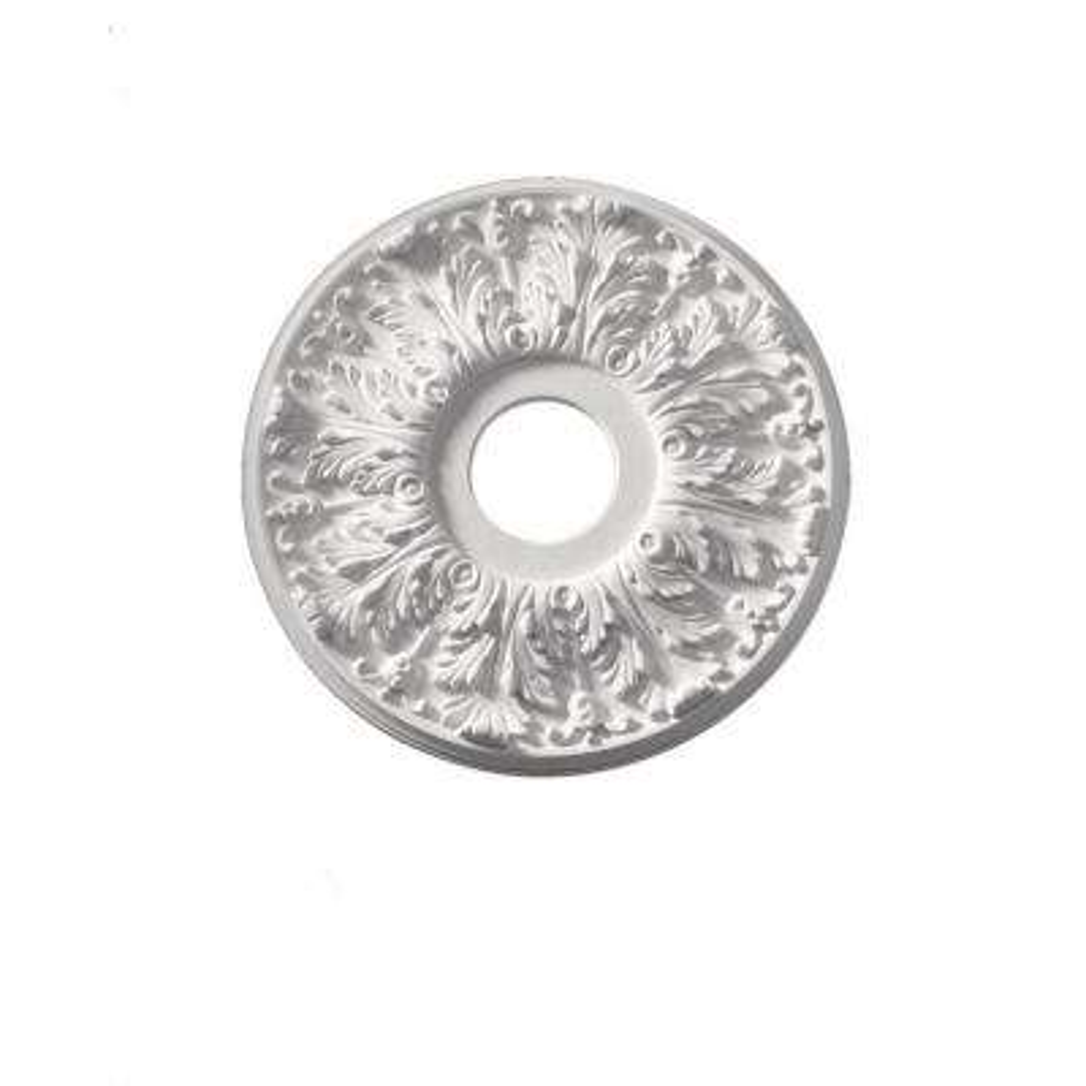 16 in. x 16 in. x 1-1/8 in. Polyurethane Florentine Ceiling Medallion (1-Piece)