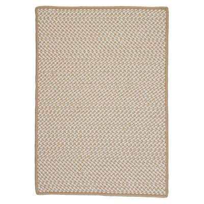Sadie Sand 12 ft. x 15 ft. Indoor/Outdoor Braided Area Rug