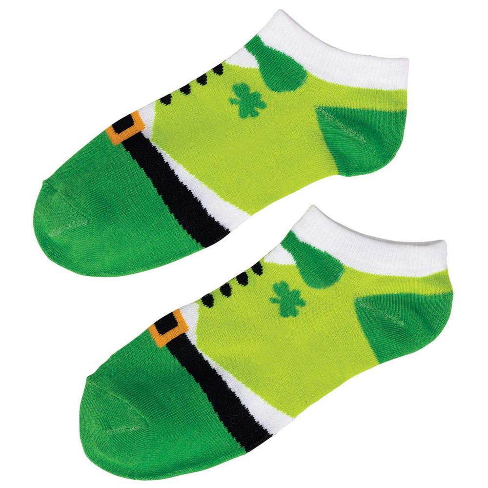 840ffcdaa Amscan Leprechaun St. Patrick s Day Ankle Socks (2-Count