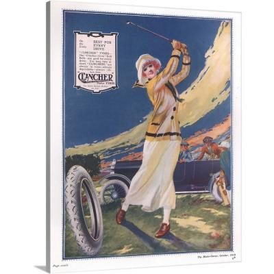 """""""Clincher Motor Tires"""" by Advertising Archives Wall Art"""