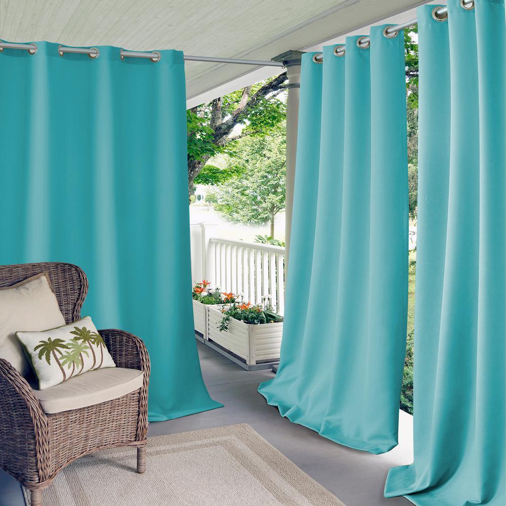 Connor Solid Indoor Outdoor Window Curtain