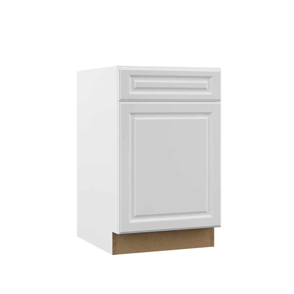 Hampton Bay Kitchen Cabinets White: Hampton Bay Designer Series Elgin Assembled 21x34.5x23.75