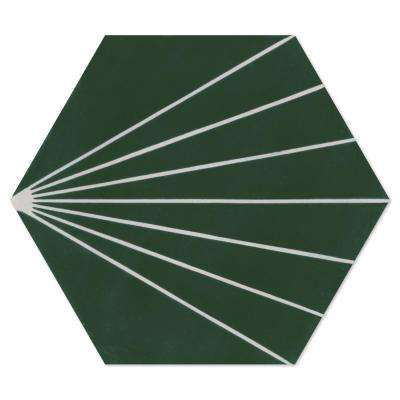 Spark C Summer 8 in. x 9 in. Cement Handmade Floor and Wall Tile (Box of 16/ 5.93 sq. ft.)