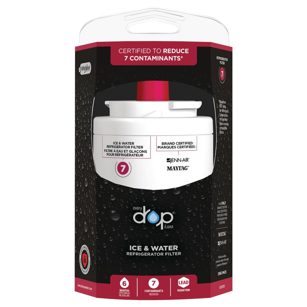 Whirlpool EveryDrop Ice and Refrigerator Water Filter 7
