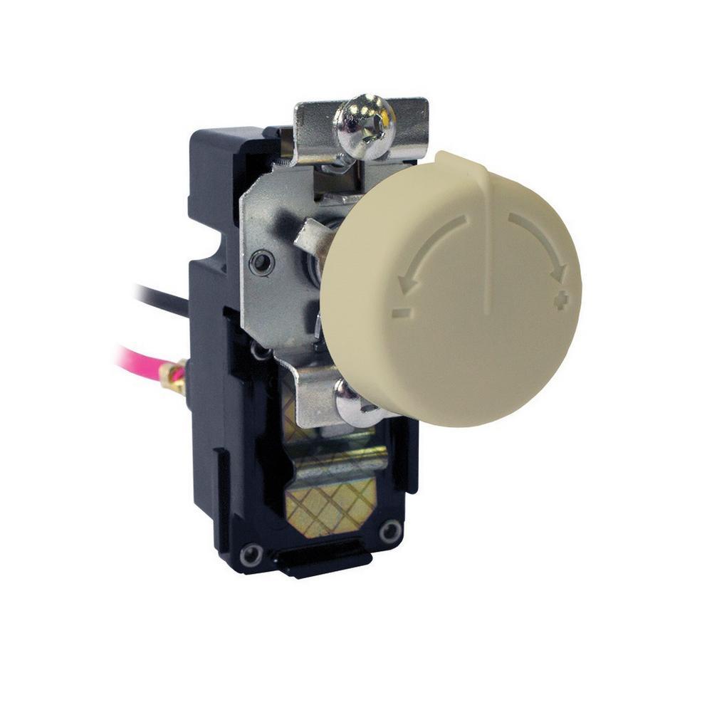 White Fahrenheat FTA2A DOUBLE POLE THERMOSTAT Programmable