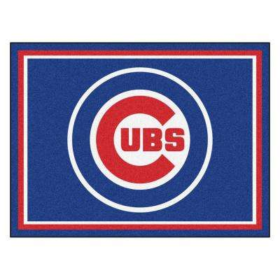 MLB Chicago Cubs Blue 8 ft. x 10 ft. Indoor Area Rug