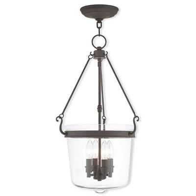Rockford 4-Light Bronze Pendant