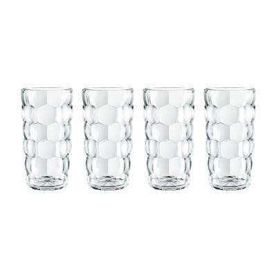 Bubbles 13.75 oz. Glass Highball (4-Pack)